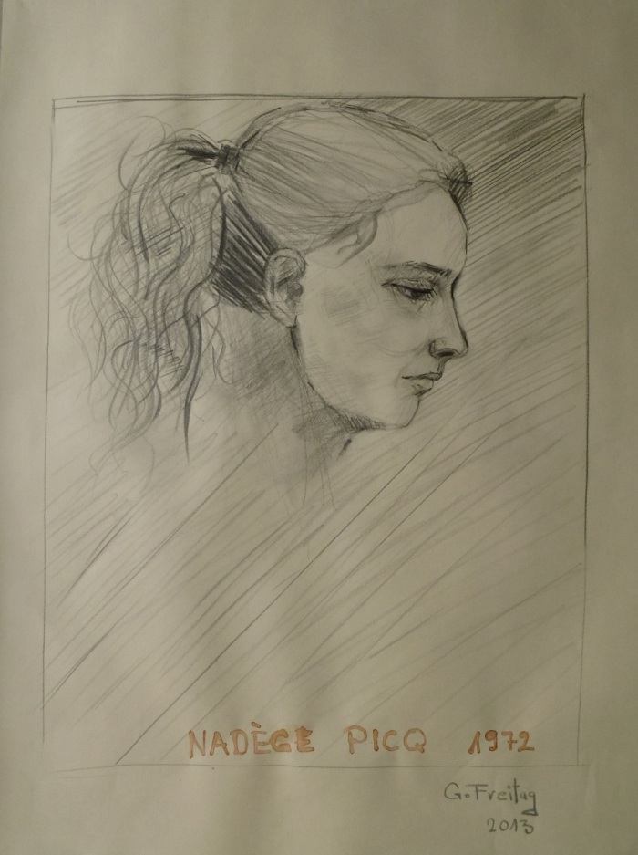 Nadege Picq by Gazmend Freitag