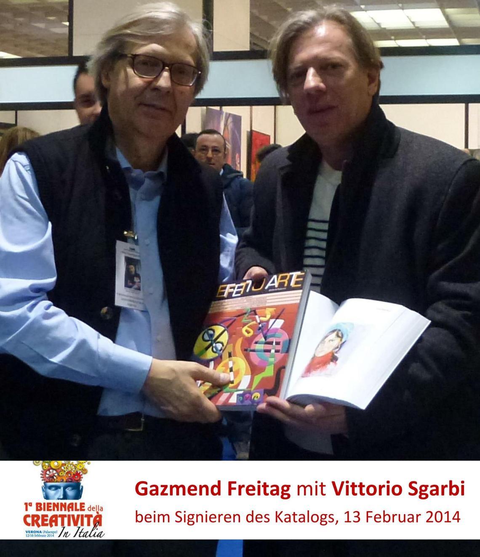 Gazmend Freitag mit Vittorio Sgarbi _01