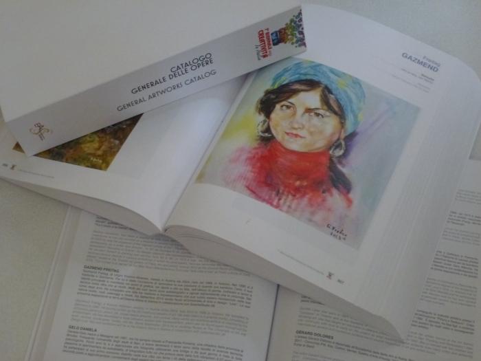 Baresha im Catalog von Biennale in Verona