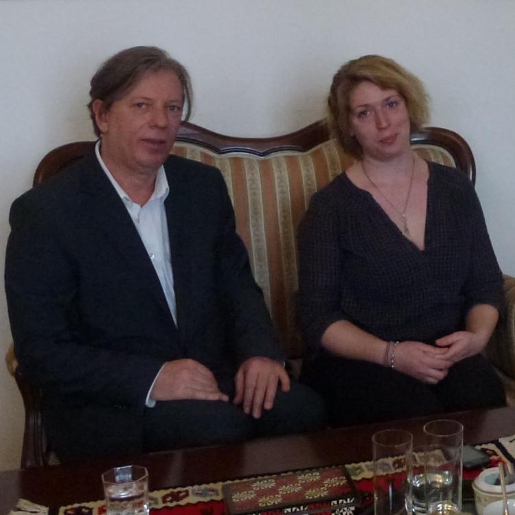 Gazmend Freitag and Sonjuschka