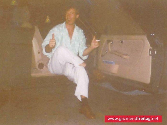 Gazmend Freitag in Rottweil,  1993