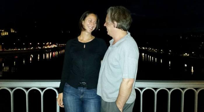 Gazmend Freitag, Lisa Grüner, Nibelungenbrücke Linz, 2015