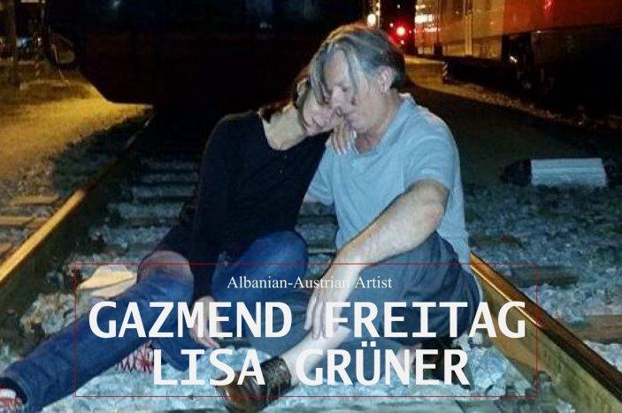 Gazmend Freitag & Lisa Grüner, Albanian-Austrian Artist