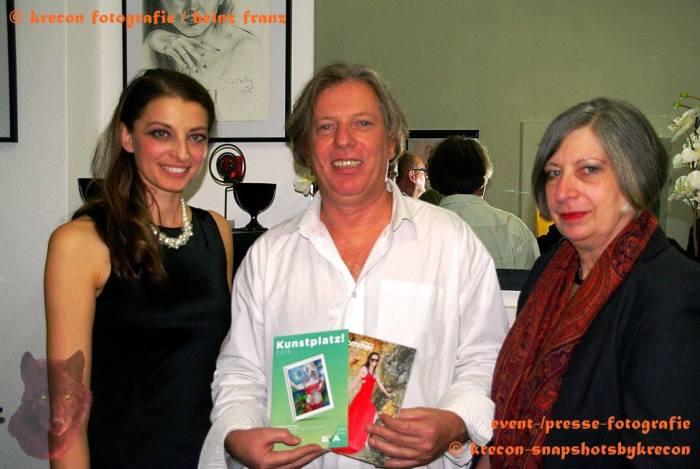 Keti Berisha, Gazmend Freitag, Ursula Pfeiffer