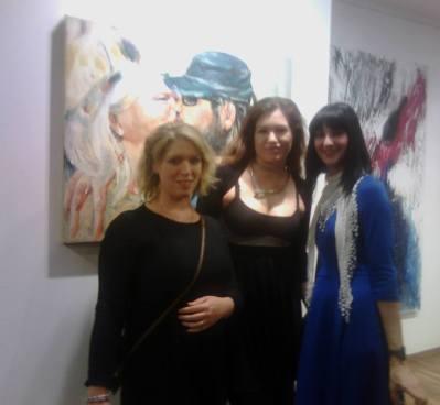 Sonjuschka Golovanova, Eva Meindl und Nikola Tromayer-Trefalt