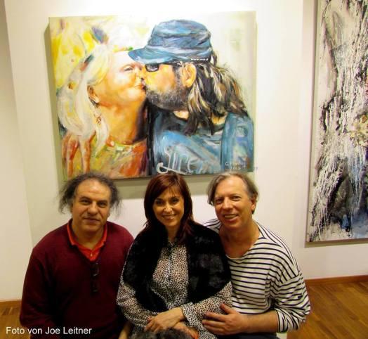 Gabriela Pirošková, Gazmend Freitag, Aghzout Abdelkhalek, Der Kunstraum in Wien, 2916. PHOTO: ROBERT RIEGER