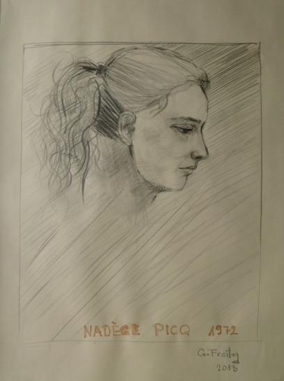 Nadege by Gazmend Freitag, 2013