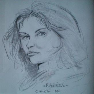 Nadege by Gazmend Freitag, 2011