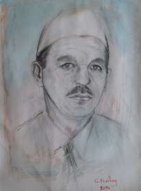 Mentor Thaqi by Gazmend Freitag, 2014