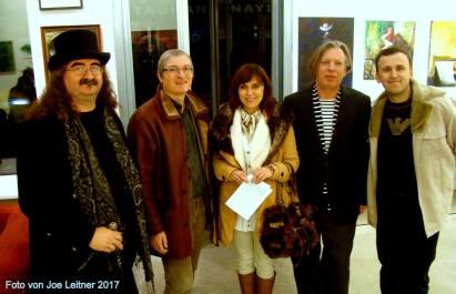 Gazmend Freitag, Eddie Müller, Hubert Thurnhofer, Gabriela Pirošková, Blerim Hoxhaj. © Joe Leitner
