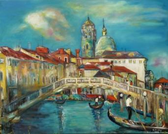 Ura e Skalcit në Venedik, 2012. Koleksion privat