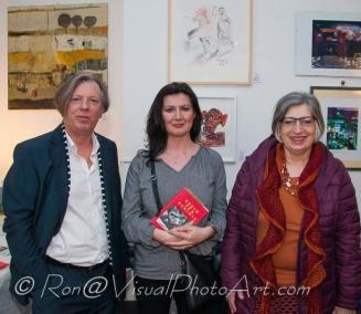 Gazmend Freitag, Valbona Reinmüller, Ursula Pfeiffer. © Ron Böhme