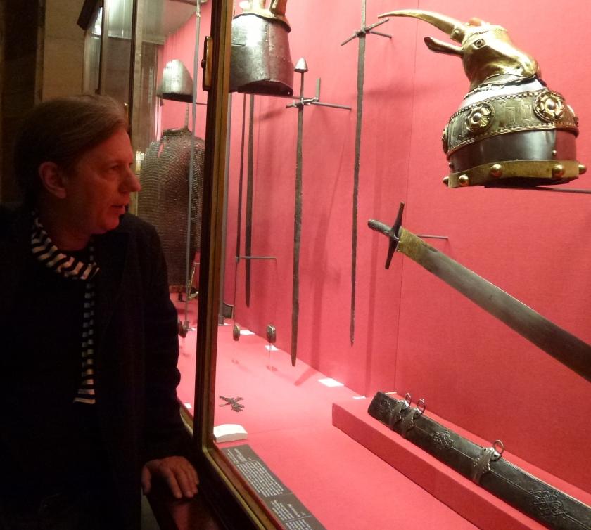 Gazmend Freitag në muzeun historik në Vjenë, 2014. © Gazmend Freitag