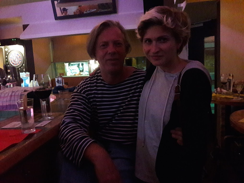 Gazmend Freitag, Katharina, Cafe Bar Filou Linz, 2017