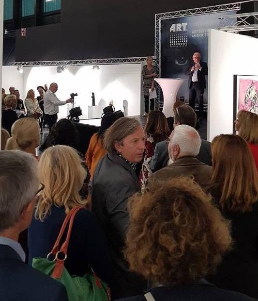 Eröffnung der ART SALZBURG CONTEMPORARY am 18.10.2018.  Photo: Dominic Steiner