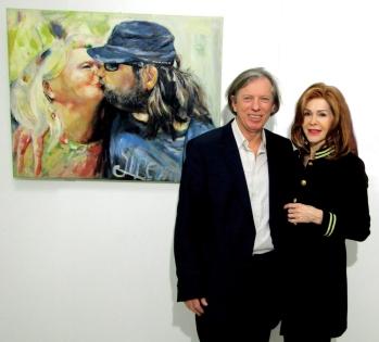 Gazmend Freitag, ART Innsbruck Direktorin Johanna Penz!