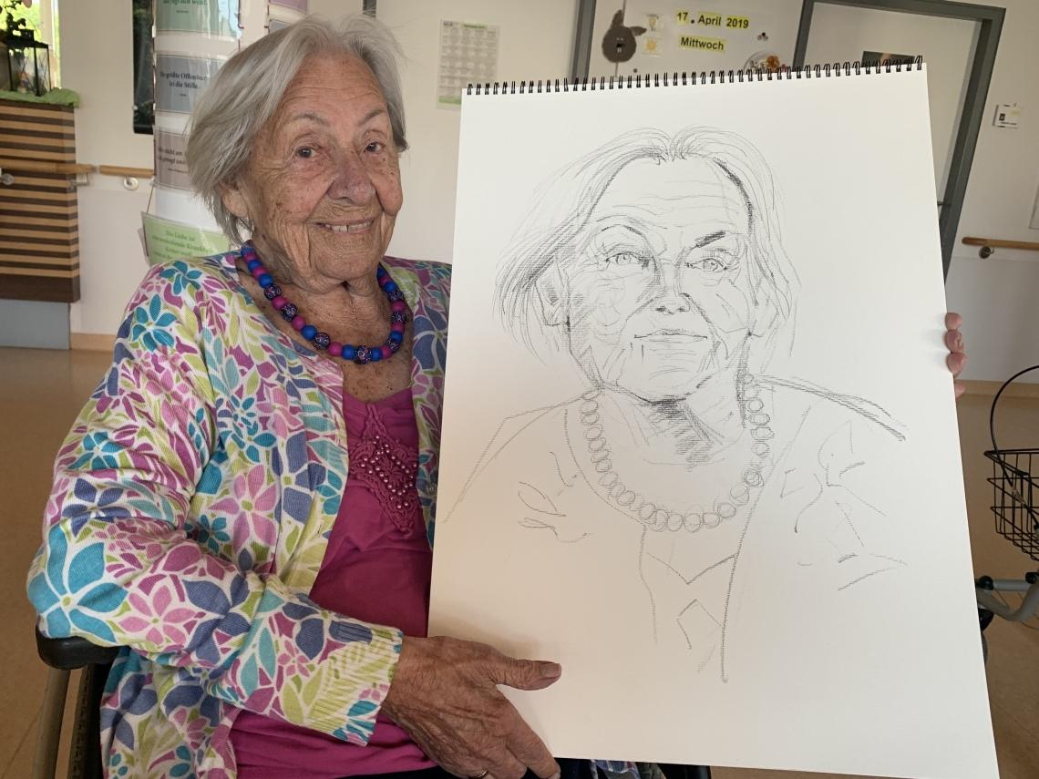 Helene Kühnel, 100 Jahre