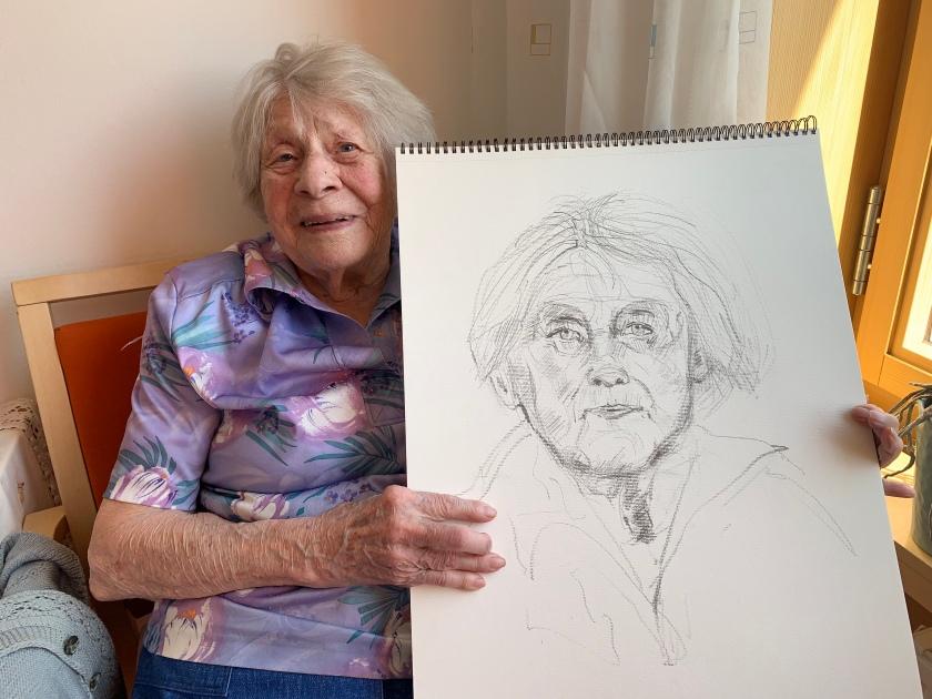 Pauline Fabits, 98 Jahre