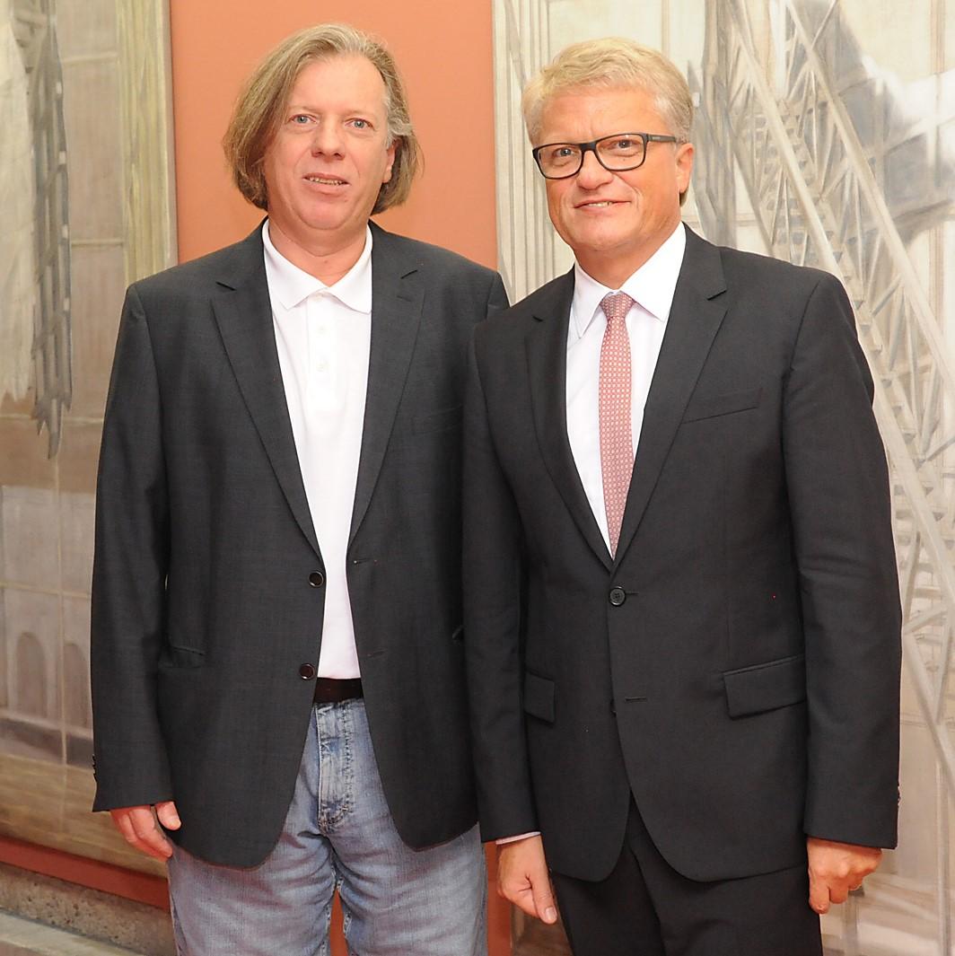 Gazmend Freitag, Klaus Luger. Foto Wolfgang Kunasz-Herzig (2)