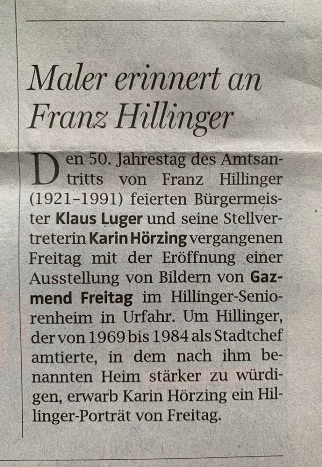 OÖNachrichten, 28.10.2019