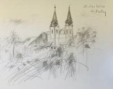 Pöstlingberg, 2020 | 59,4 x 42 cm. Bleistift auf Papier
